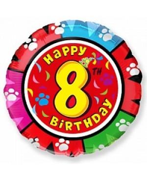 Цифра 8 на круглом шаре