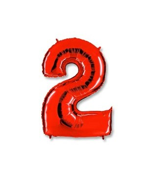 Цифра 2 красная