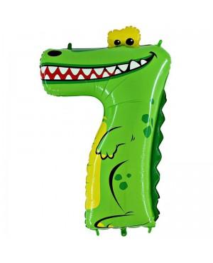 Цифра7 Крокодил
